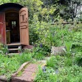 The Plankbridge Hutmakers Ltd garden