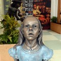 Wonderland Bronze sculpture