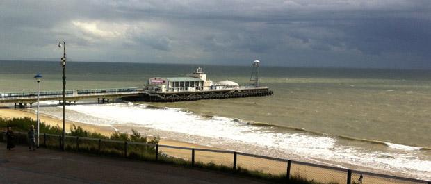 bournemouth pier banner